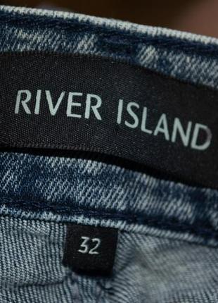 Шорты стрейчевые river island stretch skinny3