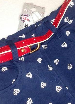 Крутые джегинсы (штанишки) на девочку с поясом