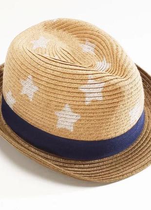 1-2 года, шляпа соломенная next.