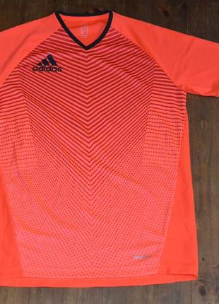 Футболка adidas orange clima cool t-shirt f85255 размер м