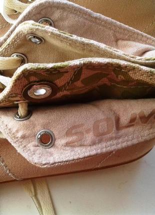 Легкие текстильные кеды s.oliver /  24,5 см.4 фото