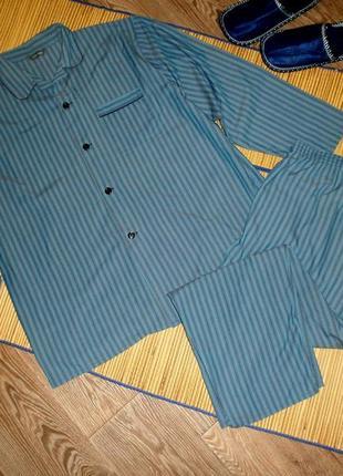 Пижама мужская xxl, 52-54 m&s