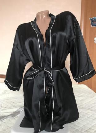 Intimissimi шелковый халат-кимоно