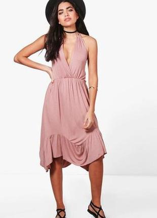 Красивое летнее платье boohoo