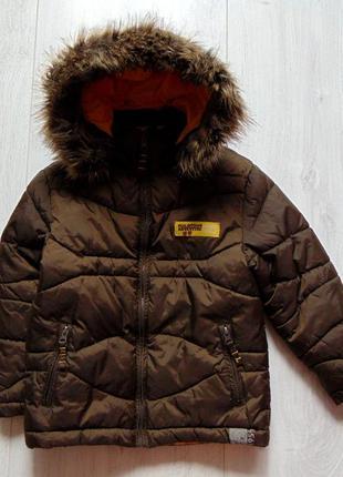 Tik&tak. размер 5 лет. стильная демисезонная куртка для мальчика