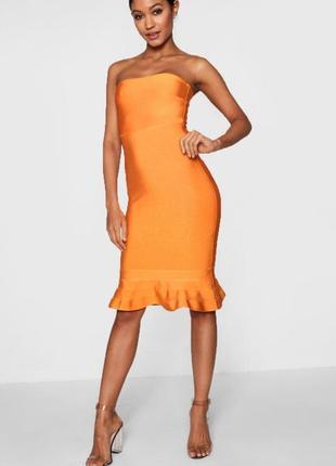 Интересное платье boohoo