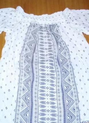 Блуза на плечи