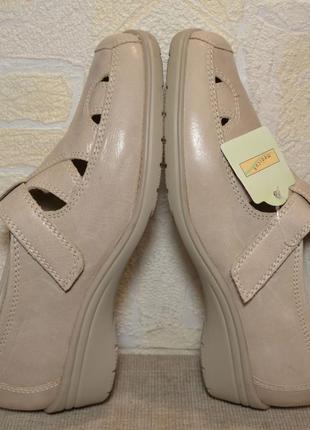 """Р.38 германия,""""medicus"""",100% натуральная кожа! ортопедические, дышащие туфли мокасины"""