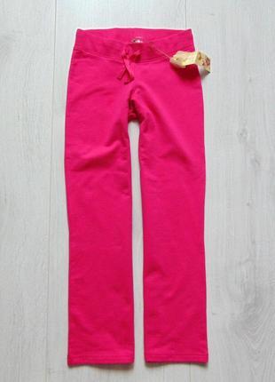 M&s. размер 9 лет. новые яркие спортивные штаны для девочки