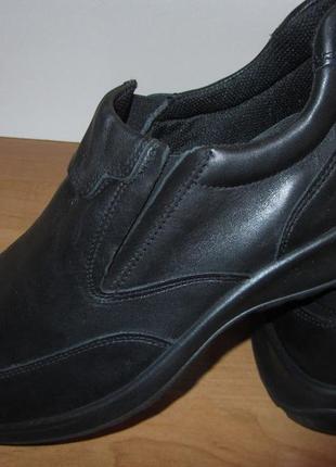 Туфли нат кожа италия