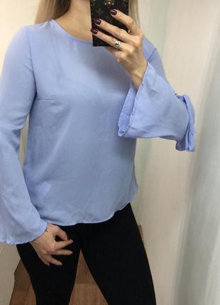 Лавандовая блузка