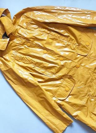 Дождевик тренч плащ  mango  капюшон отстегивается на заклепках р l (12)