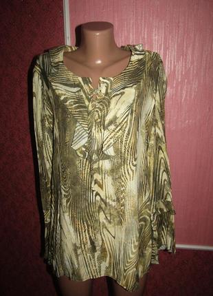 Блуза р-р 14 сост новой