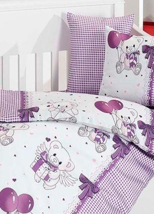 Постельное бельё в кроватку first choice baby