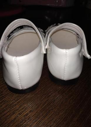 Туфельки для девочки 20р.3