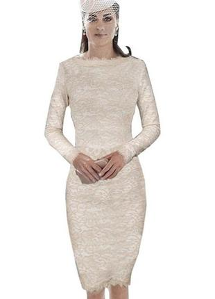 Круживне плаття міді  nice -forever