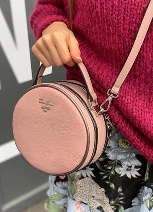 Кругляшки кросс-боди сумка с новой коллекции david jones фабус пудра