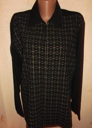 Фирменная рубашка блуза, на пышную женщину - 4xl - denis parkar