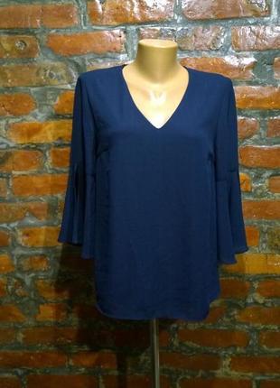 Романтичный тренд наступающей весны блуза кофточка с объемными рукавами f&f