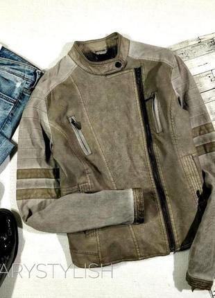Куртка косуха, рукава материя