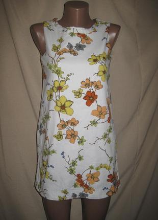 Отличное платье зара 13-14л,