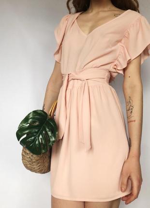 Нежное розовое женственное платье от miss selfridge petite