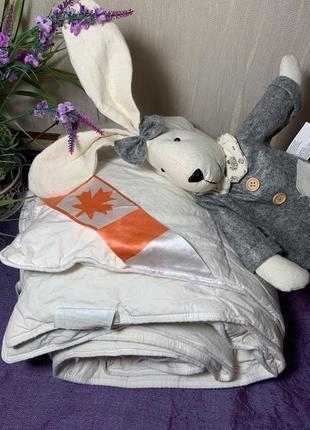 🇨🇦 канада пуховое одеяло высший 1-й класс наполнитель