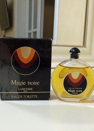 Духи винтажные lancome magie noire, тв 50 мл