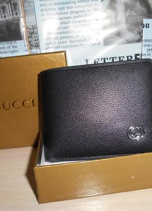 Мужской кошелек, портмоне, бумажник, кожа, италия 9975