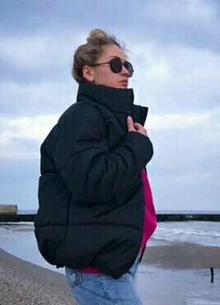 Крутая супер стильная теплая куртка осень-весна 2019