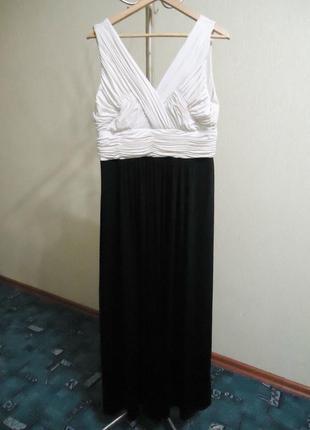 Шикарное нарядное длинное платье, р. 50-52