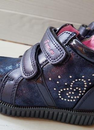 Демисезонные ботинки для девочки  томм