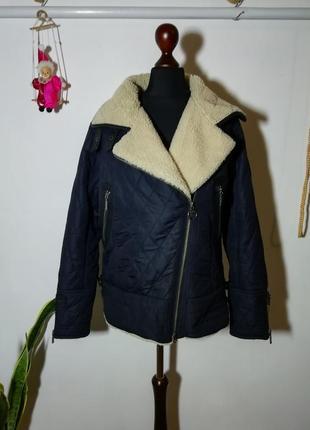 Куртка косуха на меху barbour (с дефектом)