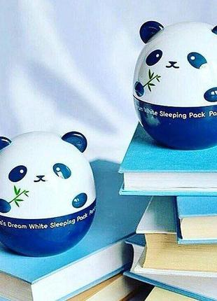 Ночная отбеливающая маска tony moly pandas dream white sleeping pack
