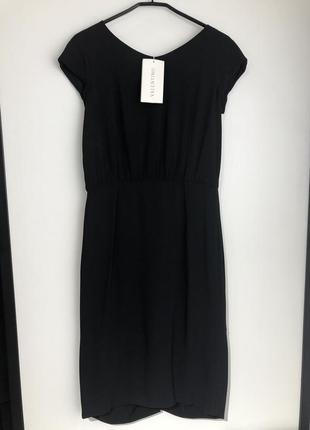 Платье миди valentino чёрное