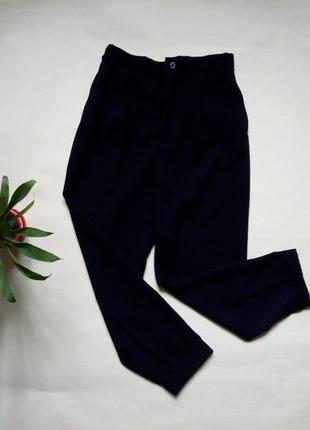 Укороченные брюки zara свободого кроя