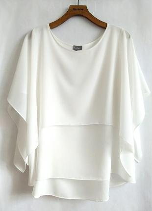 Божественная блуза из струящегося шифона