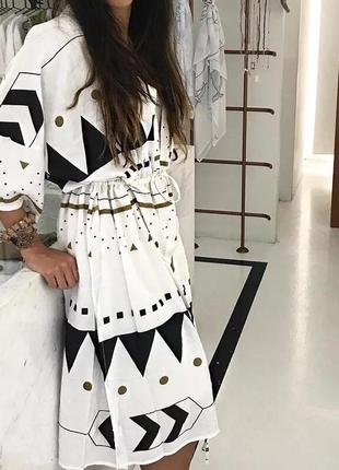 Красивые пляжные платья-туники