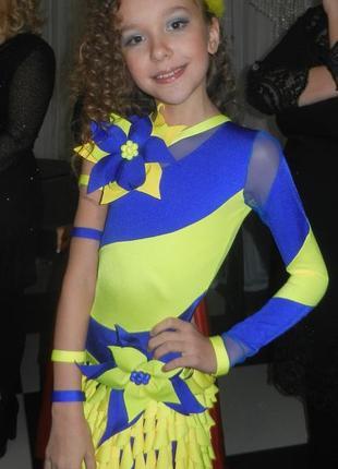 Платье для бальных танцев,латина юниоры 1