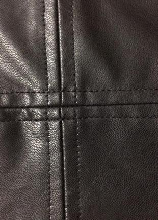 Трендовая юбка под кожу9