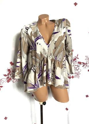 Блуза оверсайз - распродажа 🔥 много брендовой одежды! состояние вещи как новое