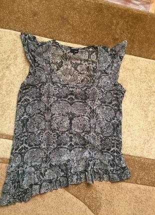 Прозрачная блузочка блуза интересного кроя
