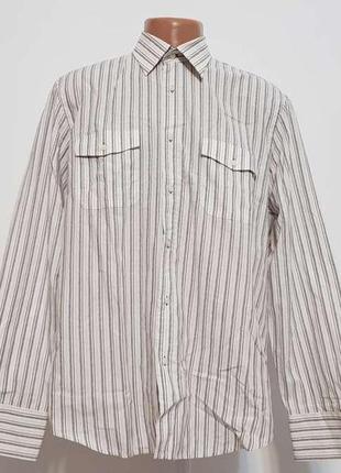 Рубашка we fashion, 100% хлопок, xl. новая!