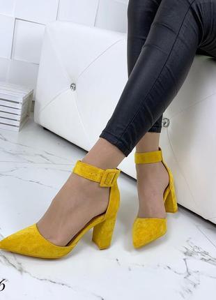 Шикарные туфельки в трёх расцветках 🌈