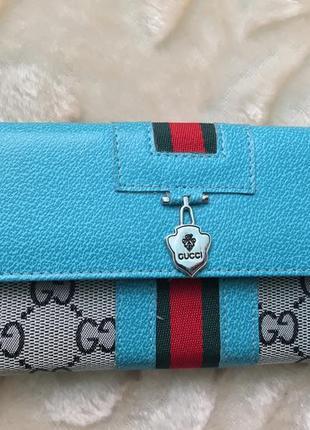 Распродажа большой модный красивый кошелек gucci