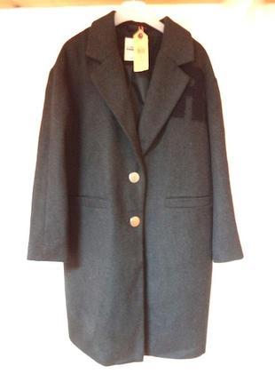 Новое серое пальто на размер л1 фото