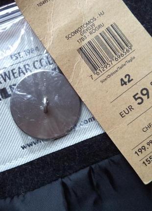 Новое серое пальто на размер л3 фото