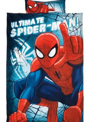 Постельное белье человек -паук 1,5 полуторка spider man