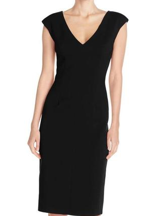 Обнова! платье плаття футляр миди карандаш классика черное