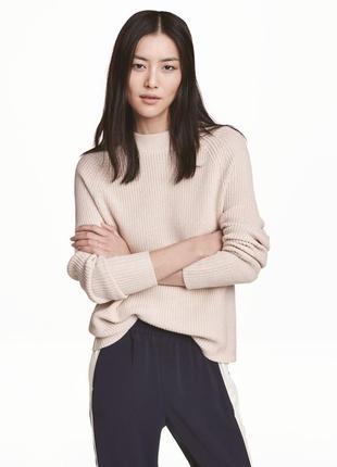 Женская кофта джемпер реглан свитер h&m